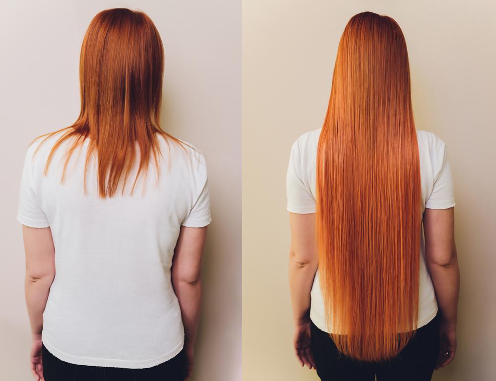 rousse cheveux extension